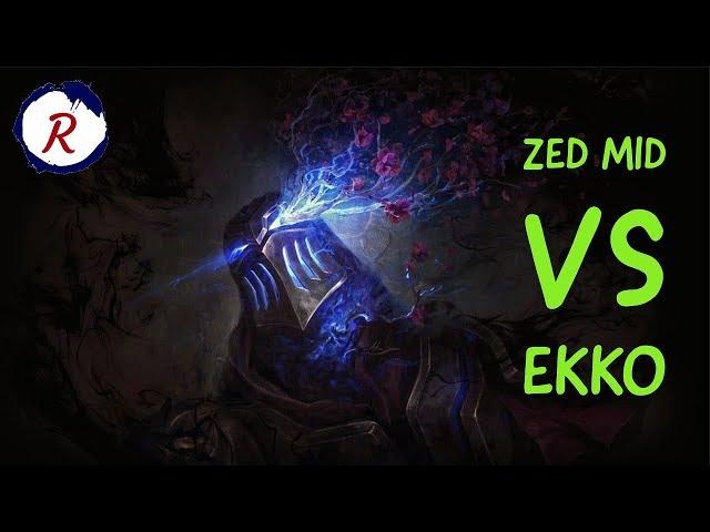 HOW TO CARRY ZED MID VS EKKO | LEAGUE OF LEGENDS