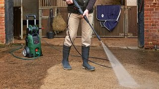 Bosch AQT 45-14X Pressure Washer - What's in the Box & How to Set it Up