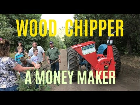 Wood Chipper On The Hometead (Another Money Maker)