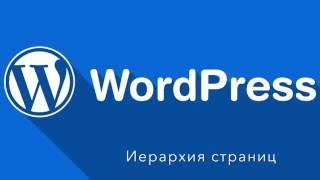 Wordpress. Создаем иерархию страниц