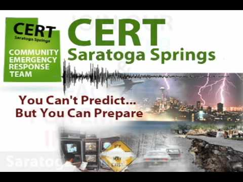 Saratoga Springs Utah CERT - Emergency Information