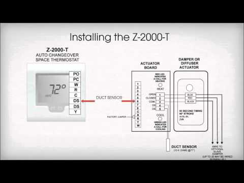Zone One Thermostat Installation
