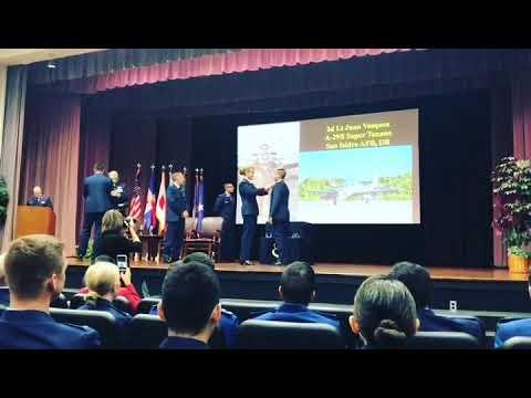 Fuerza Aérea EEUU Gradúa Hijo Comandante General FARD