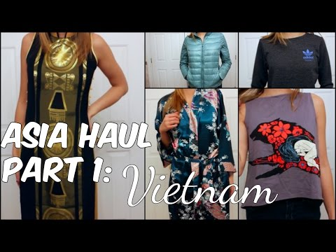 I SPENT $2 MILLION IN VIETNAM: Asia Try-On Haul Part 1