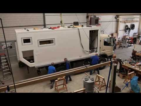 How it's made (part 1): 4WD overland expedition vehicle
