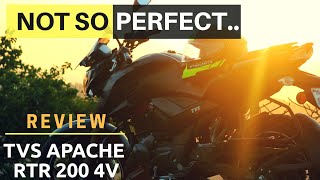 TVS APACHE RTR 200 LONG TERM REVIEW | APACHE 200 PROBLEMS, SERVICE COST, MILEAGE HIGHWAY & CITY