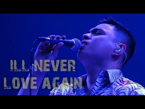 ANTON ANTENORCRUZ - I'll Never Love Again (The MusicHall Metrowalk | November 26, 2018) #HD720p