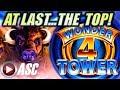 ★TOP OF THE TOWER! SUPER FREE GAMES! BIG WIN!★ BUFFALO   WONDER 4 TOWER Slot Machine Bonus