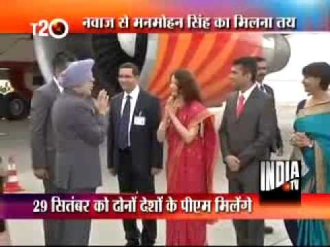 Nawaz Sharif express happiness over meeting with PM Manmohan Singh