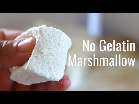 No Gelatine Marshmallow Eggless Marshmallow Vegetarian Marshmallow