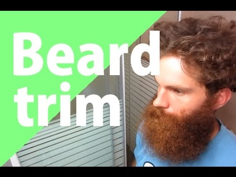 how to trim a big beard without going to the barber youtube. Black Bedroom Furniture Sets. Home Design Ideas