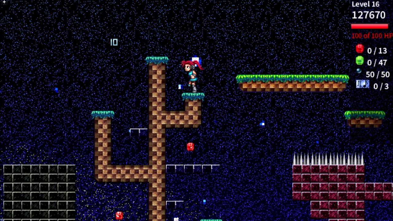 Pixelsphere: a musical platformer, 2D pixel-art sidescroller