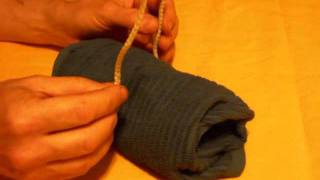Butcher Knot Tutorial from Kissing the Cook Recipes