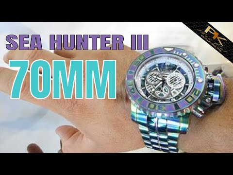 Invicta Watches Review : Invicta Sea Hunter III Iridescent : THE KING OF ALL WATCHES