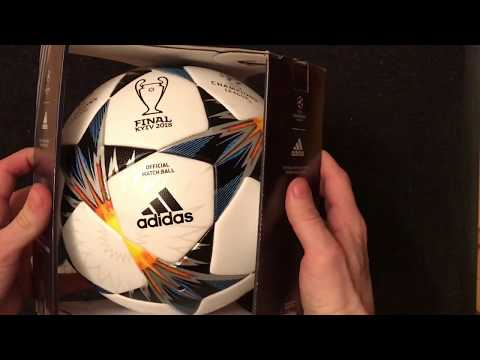 ADIDAS FINALE KYIV 2018 CHAMPIONS LEAGUE Official matchball FIFA SIZE 5 CF1203