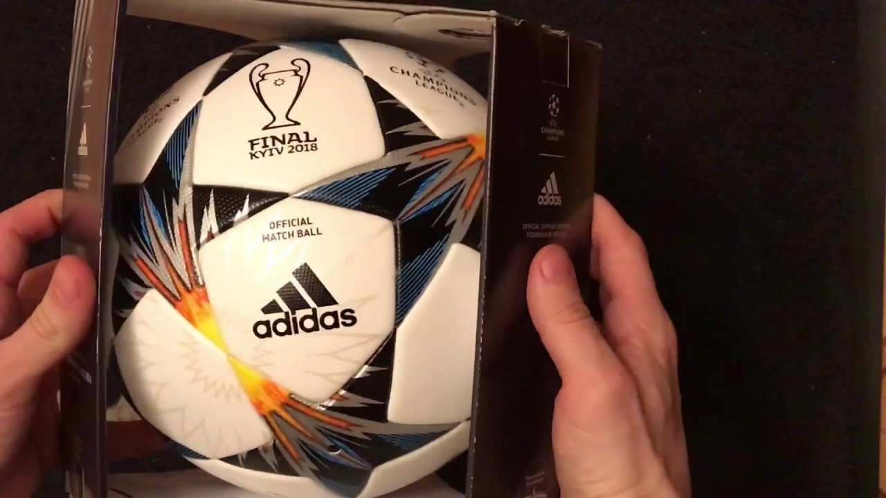 6f53b4dd3 ADIDAS FINALE KYIV 2018 CHAMPIONS LEAGUE Official matchball FIFA SIZE 5  CF1203