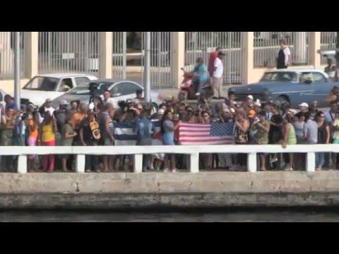 Exiliados regresan a Cuba en el primer crucero entre EE.UU. y la isla en más de 50 años