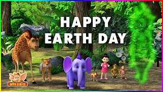 happy earth day 4k
