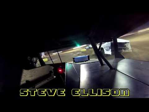 IN car cam of Steve Ellison at highland Speedway 4-6-19