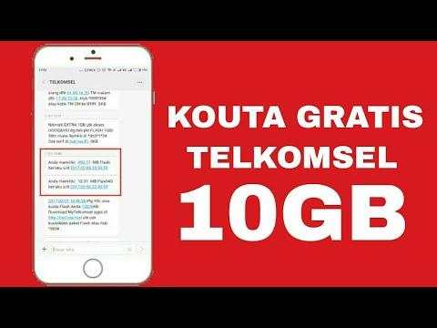 Heboh Cara Mendapatkan Kouta Gratis Telkomsel Terbaru 2018 2