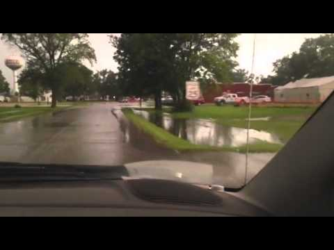 Kahoka Flash Flooding 7-11-15