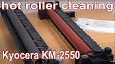 REPLACING FUSER UNIT KYOCERA FS 1028 1128 1350 (FK-150) Fast version