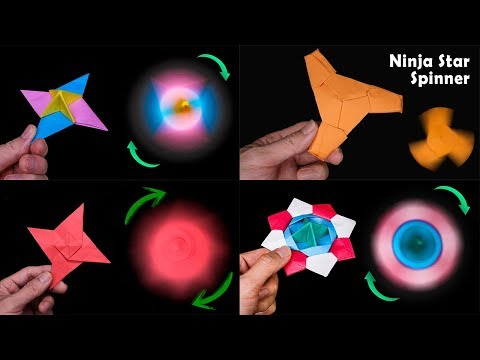 04 Cool origami spinner