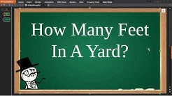 ✅ How Many Feet In A Yard