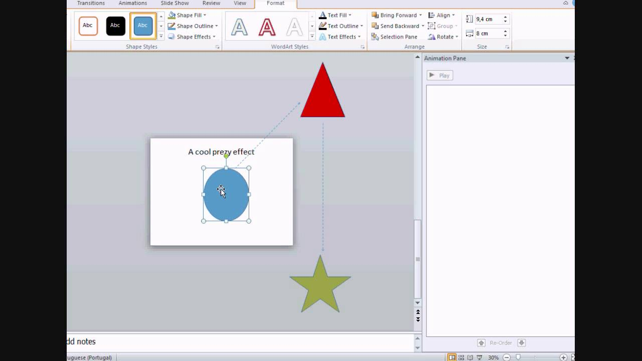 how to add a prezi effect to a powerpoint presentation - youtube, Powerpoint templates