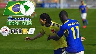 Colombia vs. Ecuador | jmc Copa América 2015 | FIFA 15