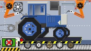 Tractor My Craft | What Head - What Wheels ? Toy Factory | Video For Kids #Traktor Mycraft