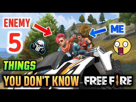 5 Things You Don't Know About 😲 FREEFIRE 🔥🔥🔥