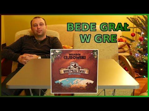 Wojciech Cejrowski - BOSO PRZEZ ŚWIAT - bede grał w gre - test gry