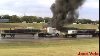 18 Wheeler accident I-20 south Dallas. 10/2/14