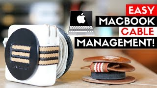 BEST MacBook Pro Cable Management! Above the Fray Powerplay Review