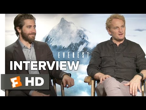 Everest Interview - Jason Clarke and Jake Gyllenhaal (2015) - Elizabeth Debicki Adventure Movie HD