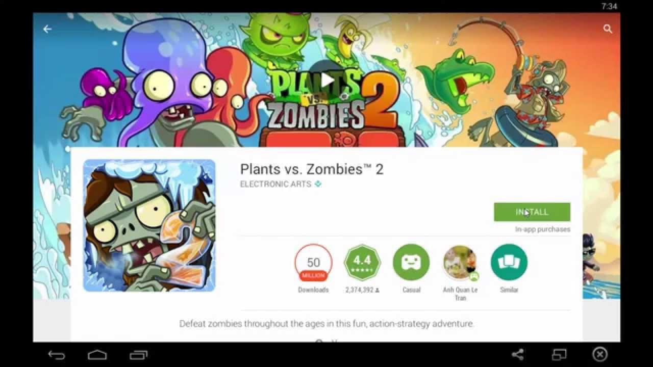 Hướng dẫn cài đặt BlueStacks để chơi Plants vs. Zombies 2 trên PC