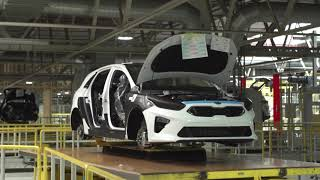 2019 Kia Ceed Production and testing