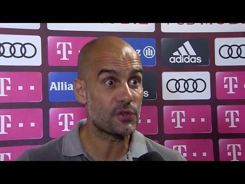 Bayern Munich 1-0 Manchester City - Pep Guardiola Post Match Interview