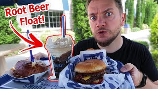 German Guy Tries ROOT BEER FLOAT for the First Time in the USA!