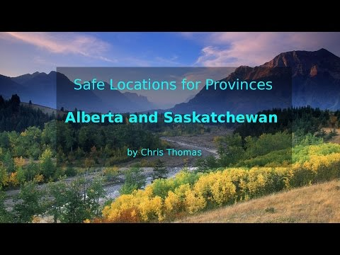 Safe Locations for Provinces Alberta and Saskatchewan