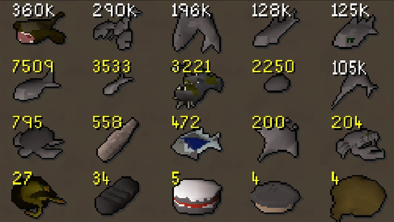 The Underground World of Burnt Food Collecting! Why do People Collect Burnt  Food? [OSRS]