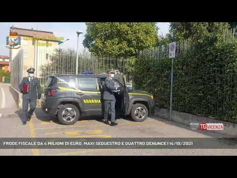 FRODE FISCALE DA 4 MILIONI DI EURO, MAXI SEQUESTRO...