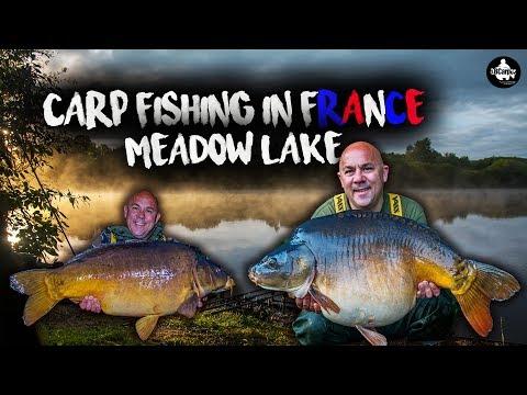 Carp Fishing In France - Meadow Lake - LÉ VLOG 3