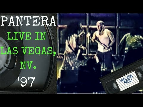 Pantera Live in Las Vegas NV June 28 1997 [Full Show]