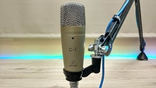 Microfone C-1 Behringer Unboxing
