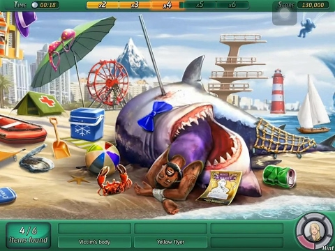 Criminal Case: Pacific Bay - 1x02 - Shark Attack (Ocean Shore)