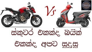 Scooter or Motorbike, What is the Best for us to buy.