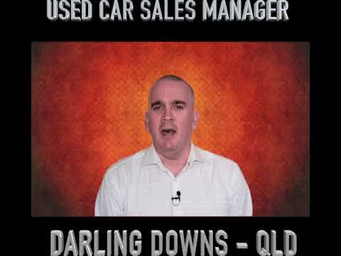 NEW ROLE ALERT - Used Car Manager | Darling Downs