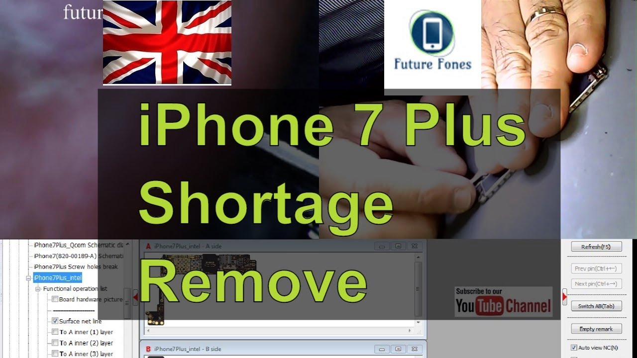 iPhone 7 plus no power shortage removal
